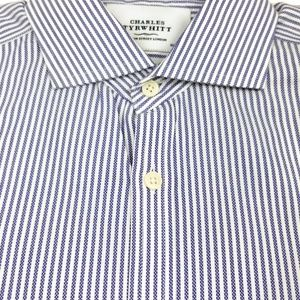 Charles Tyrwhitt Shirts - Charles Tyrwhitt Extra Slim Fit Non Iron 16 - 33
